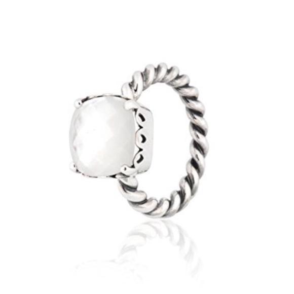 d34dd0cfc cheap pandora mother of pearl ring e1839 c31b9